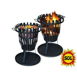 Kulaté ohniště SOL koš 50 cm, Lucifer