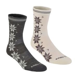 Ponožky Kari Traa VINST WOOL SOCK 2PK Dusty