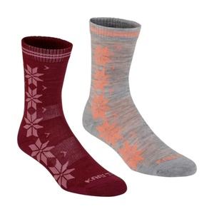 Ponožky Kari Traa VINST WOOL SOCK 2PK Port