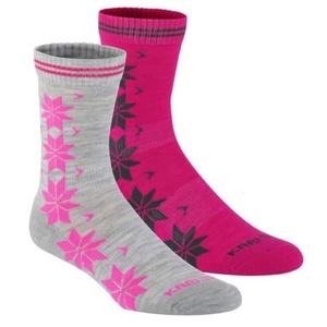 Ponožky Kari Traa VINST WOOL SOCK 2PK grey, Kari Traa