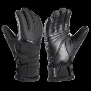 Lyžařské rukavice LEKI Snowfox 3D Lady black, Leki