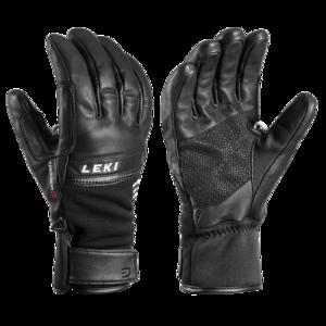 Lyžařské rukavice LEKI Lightning 3D black, Leki