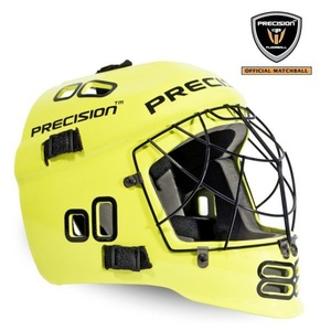 Helma PRECISION GOALIE HELMET neon yellow, Precision