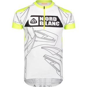 Pánský cyklo dres NORDBLANC Gee NBSMF6649_BLA, Nordblanc