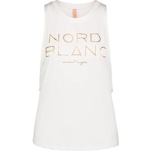 Dámské tílko na jógu NORDBLANC Wide NBSLF6694_BLA, Nordblanc