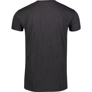 Pánské bavlněné tričko NORDBLANC Crest NBSMT6814_GRM, Nordblanc
