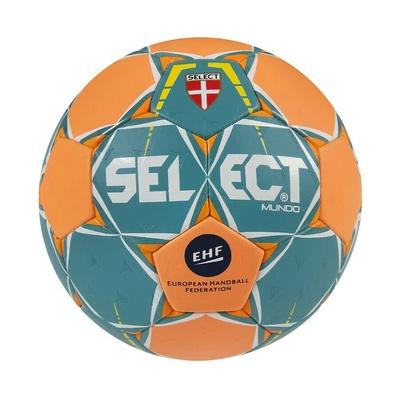 Míč na házenou Select HB Mundo zeleno-oranžová, Select