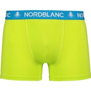 Pánské bavlněné boxerky Nordblanc Depth zelená NBSPM6865_JSZ, Nordblanc