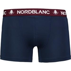 Pánské bavlněné boxerky Nordblanc Depth modrá NBSPM6865_TEM, Nordblanc