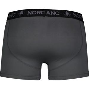 Pánské bavlněné boxerky Nordblanc Depth šedá NBSPM6865_TSD, Nordblanc