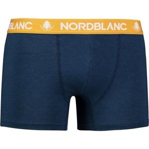 Pánské bavlněné boxerky NORDBLANC Fiery NBSPM6866_ZEM, Nordblanc