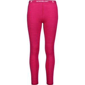 Dámské termo kalhoty Nordblanc Rapport tmavě růžové NBWFL6874_RUV, Nordblanc