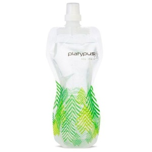 Láhev Platypus SoftBottle Push-Pull 1 L zelená vzor, Platypus