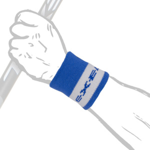 Potítko BIG WRISTBAND SHORT blue, Exel