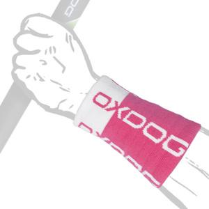 Potítko OXDOG TOUR LONG WRISTBAND pink/white, Oxdog