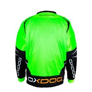 Brankářský dres OXDOG GATE GOALIE SHIRT green/black, Oxdog