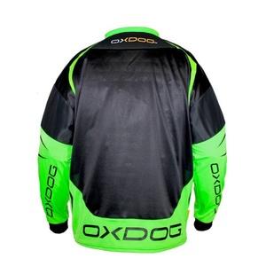 Brankářský dres OXDOG GATE GOALIE SHIRT black/green, Oxdog