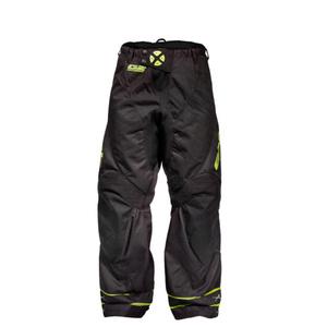 Brankářské kalhoty EXEL G2 GOALIE PANTS black/yellow, Exel