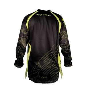 Brankářský dres EXEL G1 GOALIE JERSEY #1 black/yellow, Exel