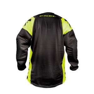 Brankářský dres EXEL G2 GOALIE PROTECTION JERSEY black/yellow, Exel