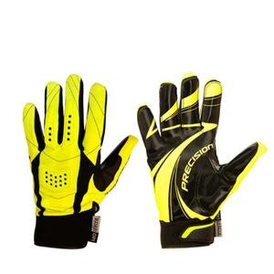Brankářské rukavice PRECISION GOALIE GLOVES black/yellow senior, Exel