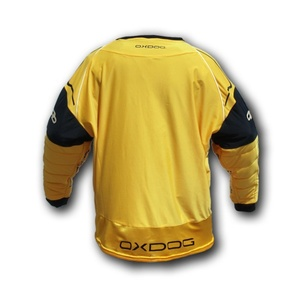 Brankářský dres OXDOG BLOCKER GOALIE SHIRT orange/black, Exel