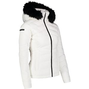 Dámská zimní bunda Nordblanc Pucker bílá NBWJL6927_CHB, Nordblanc