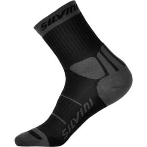 Ponožky Silvini Vallonga UA522 black-grey, Silvini
