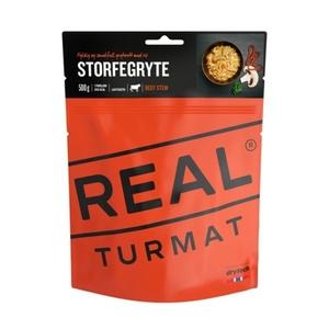 Real Turmat Hovězí na houbách s rýží, 142 g
