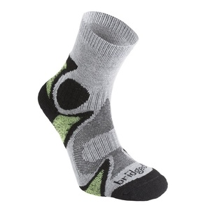 Ponožky Bridgedale CoolFusion Trailhead 843 black/green