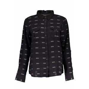 Košile Lee Slouchy shirt Black, Lee