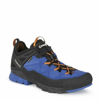 Pánské boty AKU Rock Dfs GTX modro/oranžová, AKU