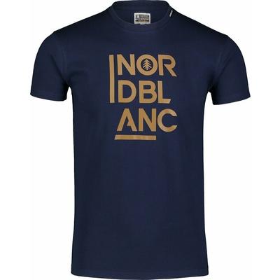 Pánské bavlněné triko Nordblanc OBEDIENT modré NBSMT7258_TEM