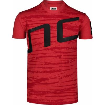 Pánské tričko Nordblanc Iantos červené NBSMT7393_TCV