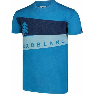 Pánské tričko Nordblanc Graphic modré NBSMT7394_AZR