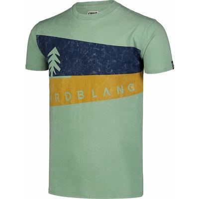 Pánské tričko Nordblanc Graphic zelené NBSMT7394_PAZ