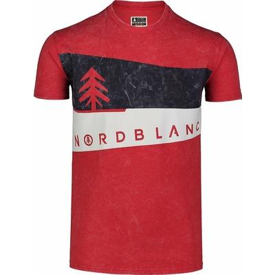 Pánské tričko Nordblanc Graphic černé NBSMT7394_TCV
