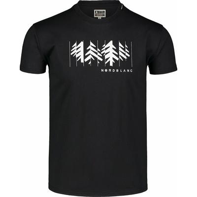 Pánské bavlněné triko Nordblanc DECONSTRUCTED černé NBSMT7398_CRN, Nordblanc