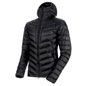 Pánská bunda Mammut Broad Peak IN Hooded Jacket Men black phantom 00189 (1013-00260), Mammut