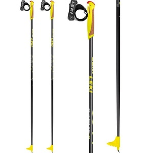 Běžecké hole Leki XTA 5.5 Jr. black/anthracite/white/yellow 64949721, Leki