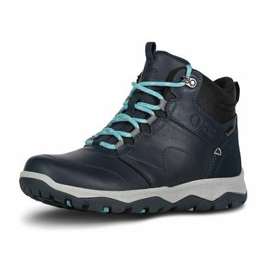Dámské kožené outdoorové boty Nordblanc Primadona NBSH7443_NVY, Nordblanc
