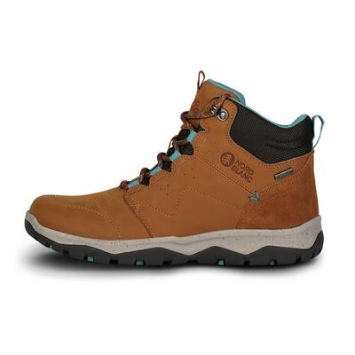 Dámské kožené outdoorové boty Nordblanc Primadona NBSH7443_TAN