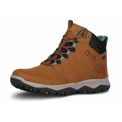 Dámské kožené outdoorové boty Nordblanc Primadona NBSH7443_TAN, Nordblanc