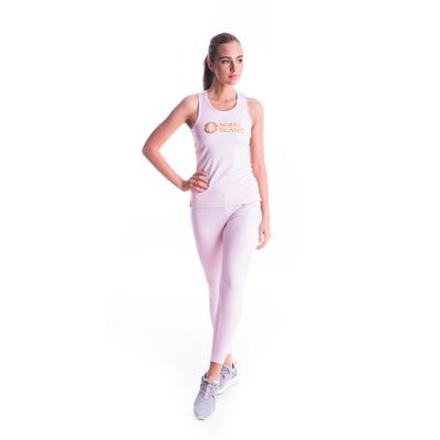 Dámské fitness tílko Nordblanc Balm růžové NBSLF7446_BRR