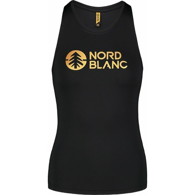 Dámské fitness tílko Nordblanc Balm černé NBSLF7446_CRN