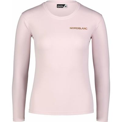 Dámské fitness tričko Nordblanc Clash růžové NBSLF7448_BRR, Nordblanc