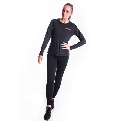 Dámské fitness tričko Nordblanc Clash černá NBSLF7448_CRN, Nordblanc
