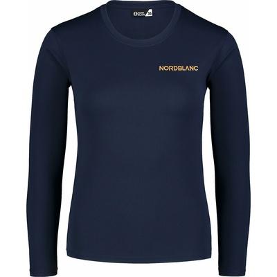 Dámské fitness tričko Nordblanc Clash modré NBSLF7448_NMM, Nordblanc