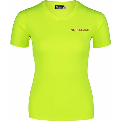 Dámské funkční tričko Nordblanc Training žluté NBSLF7450_BPZ