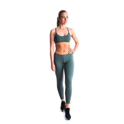 Dámské fitness legíny Nordblanc Flexibility zelené NBSPL7454_TZE, Nordblanc
